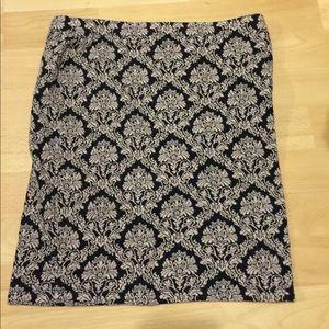Damask Mini Skirt